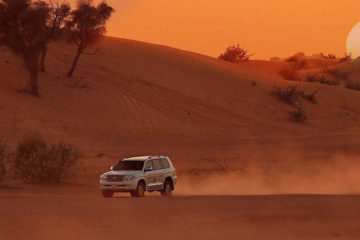 Sunset Desert Safari Salalah Pontland